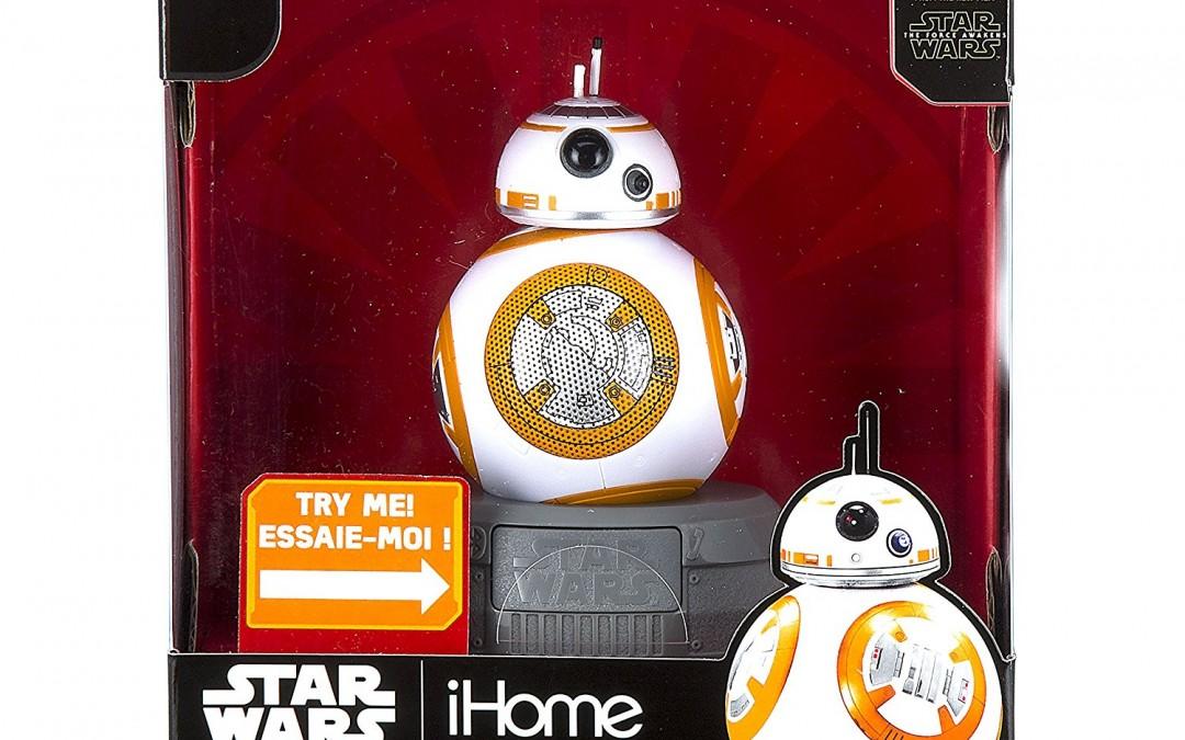 New Force Awakens BB-8 Bluetooth Speaker available on Amazon.com