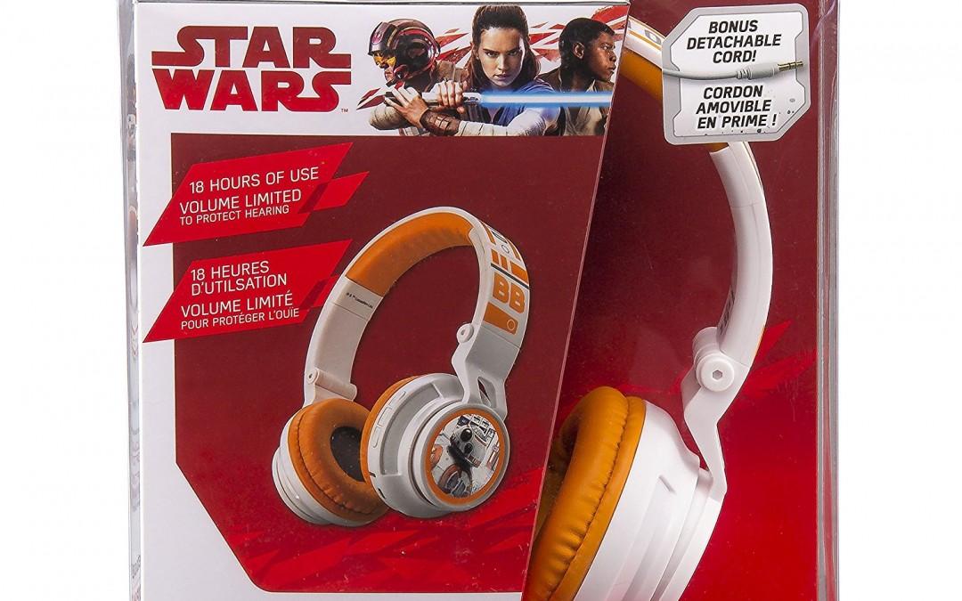 New Last Jedi BB-8 Bluetooth Wireless Headphones available on Amazon.com