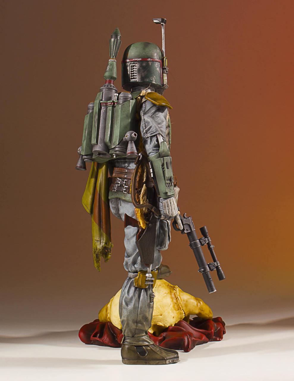 ROTJ GGLTD Boba Fett Statue 5