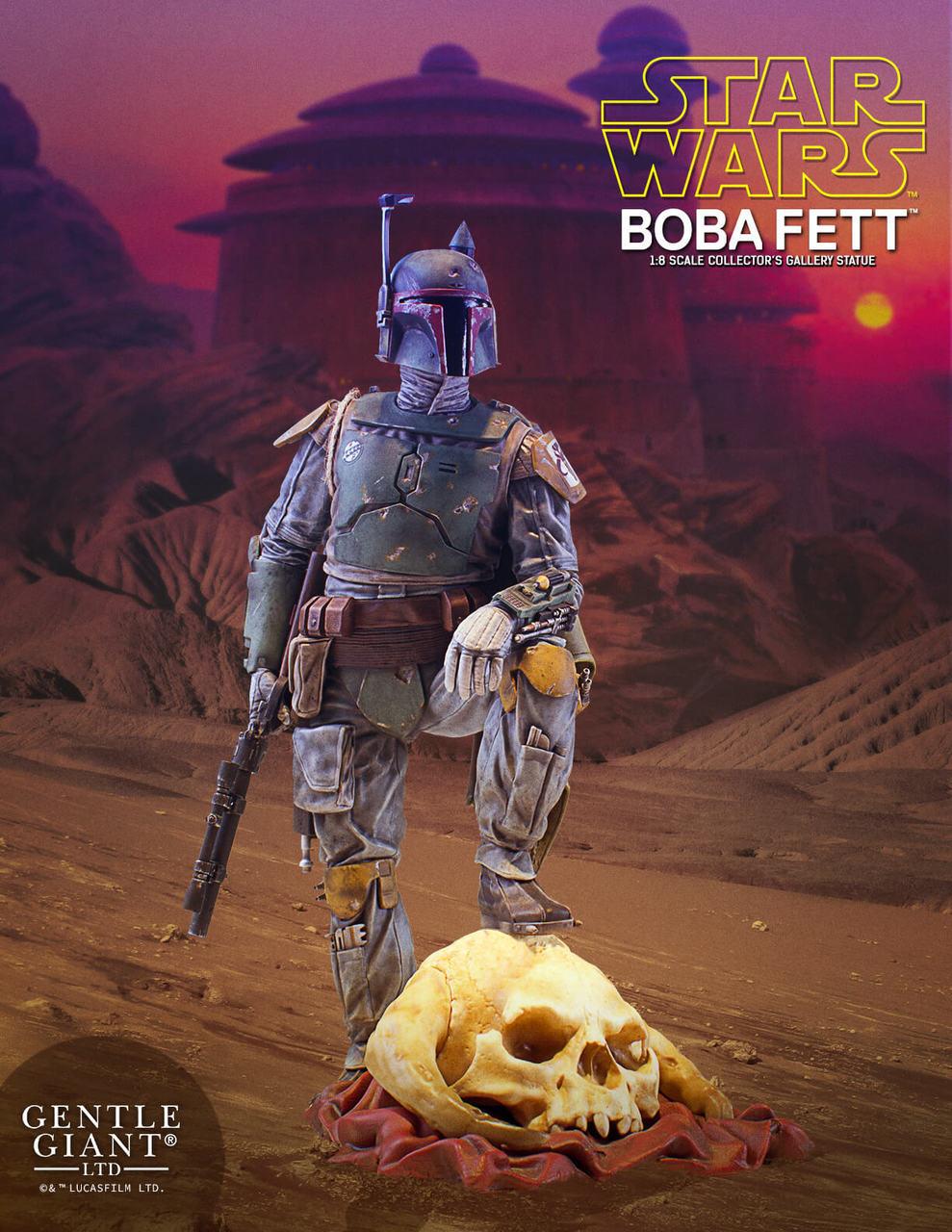 ROTJ GGLTD Boba Fett Statue 1