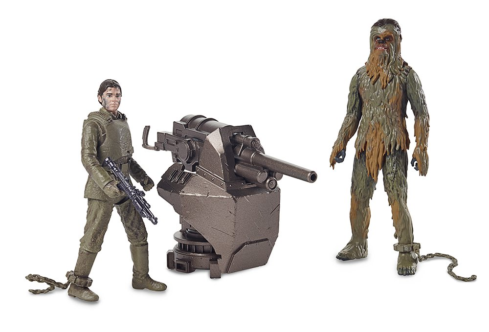 Solo: ASWS Force Link Han and Chewie Figure Set