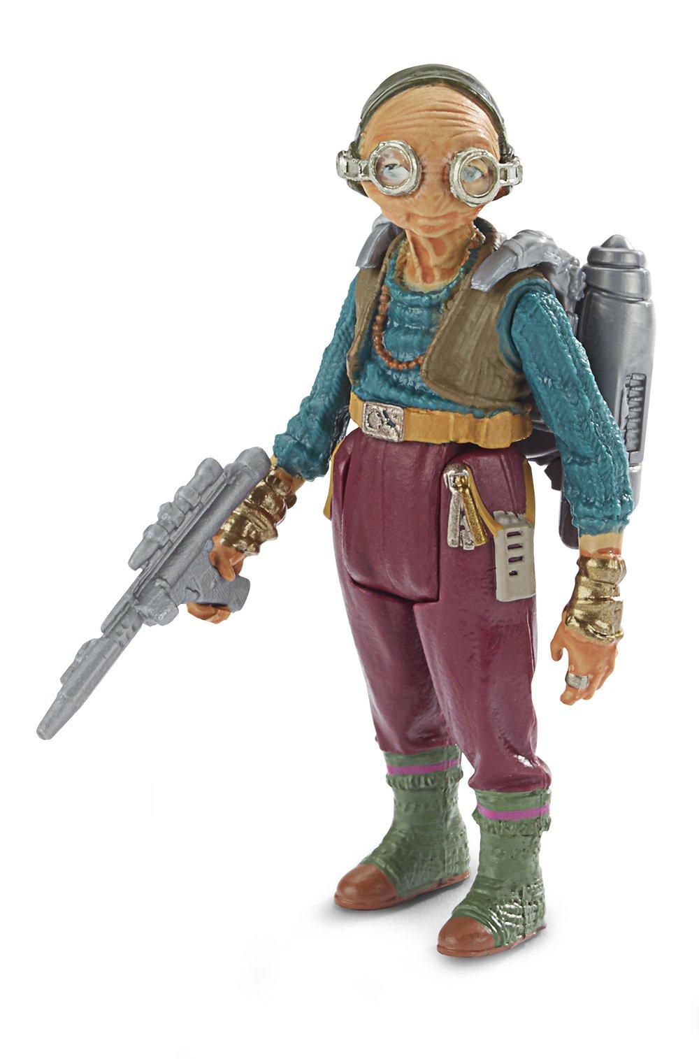 Solo: ASWS (FA and TLJ) Force Link Maz Kanata Figure