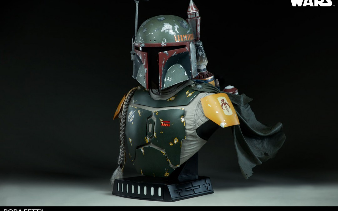 New Star Wars Boba Fett Life-Size Bust available for pre-order, price revealed!