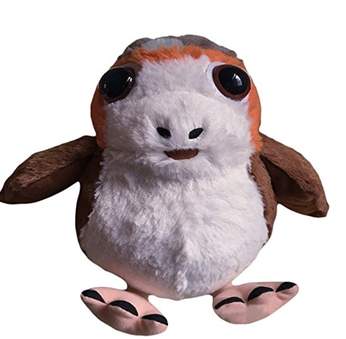 New Last Jedi Cosplaysky Porg Bird Plush Doll available on Amazon.com