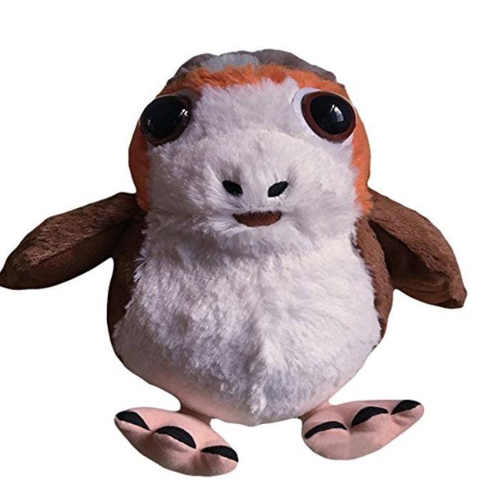 New Last Jedi Cosplaysky Porg Bird Plush Doll available on Amazon.com