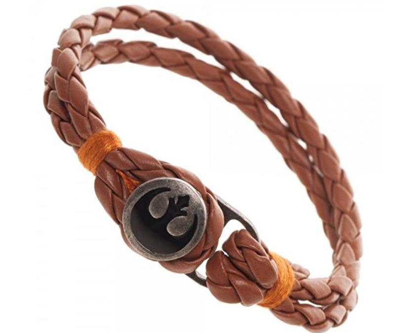New Last Jedi Luke Skywalker Rebel Bracelet available on Amazon.com