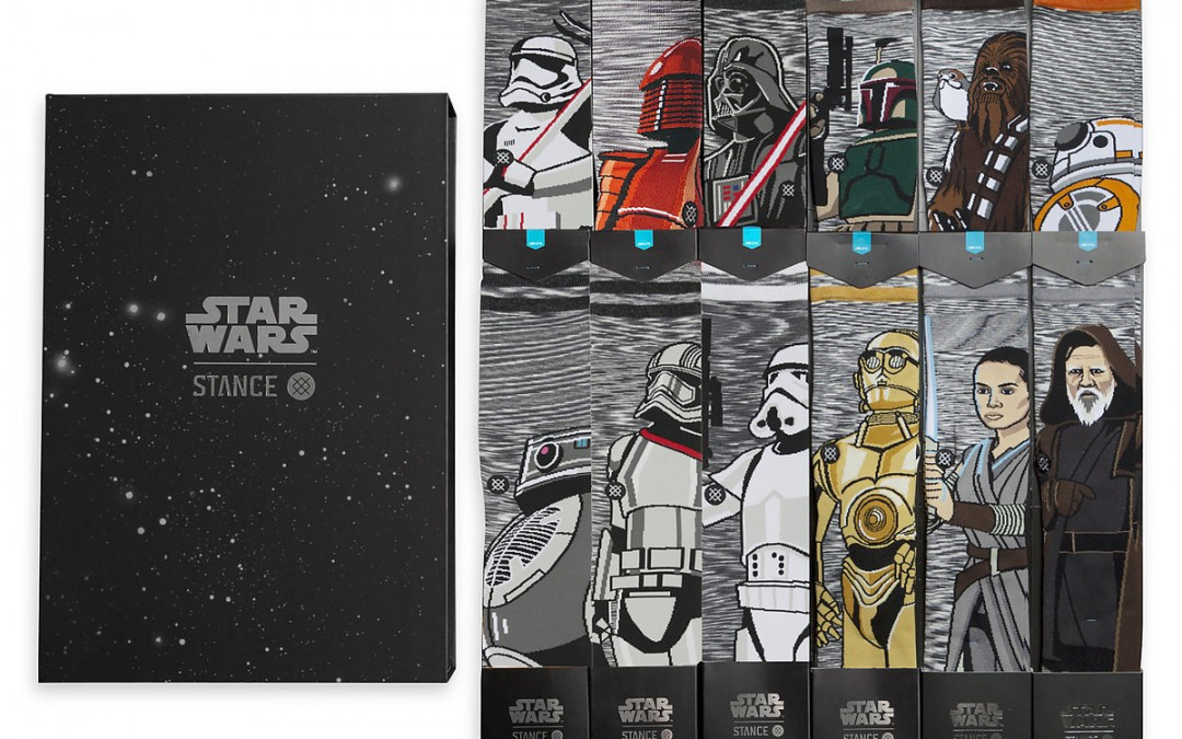 New Last Jedi Adult Socks Set available on ShopDisney.com