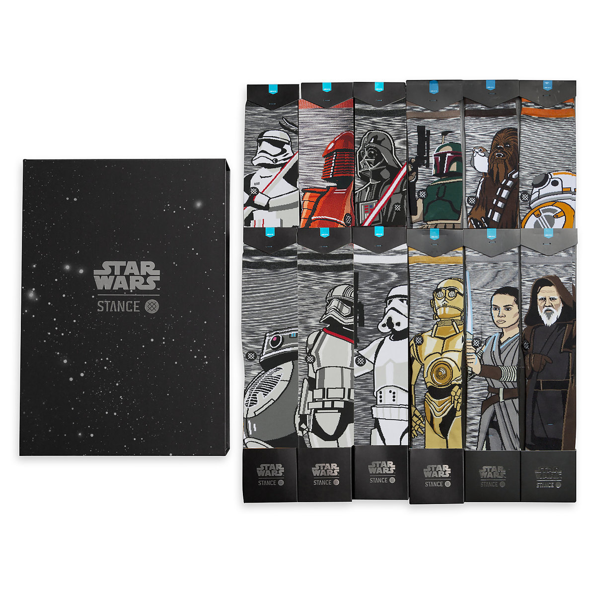 TLJ Adult Socks Set 3