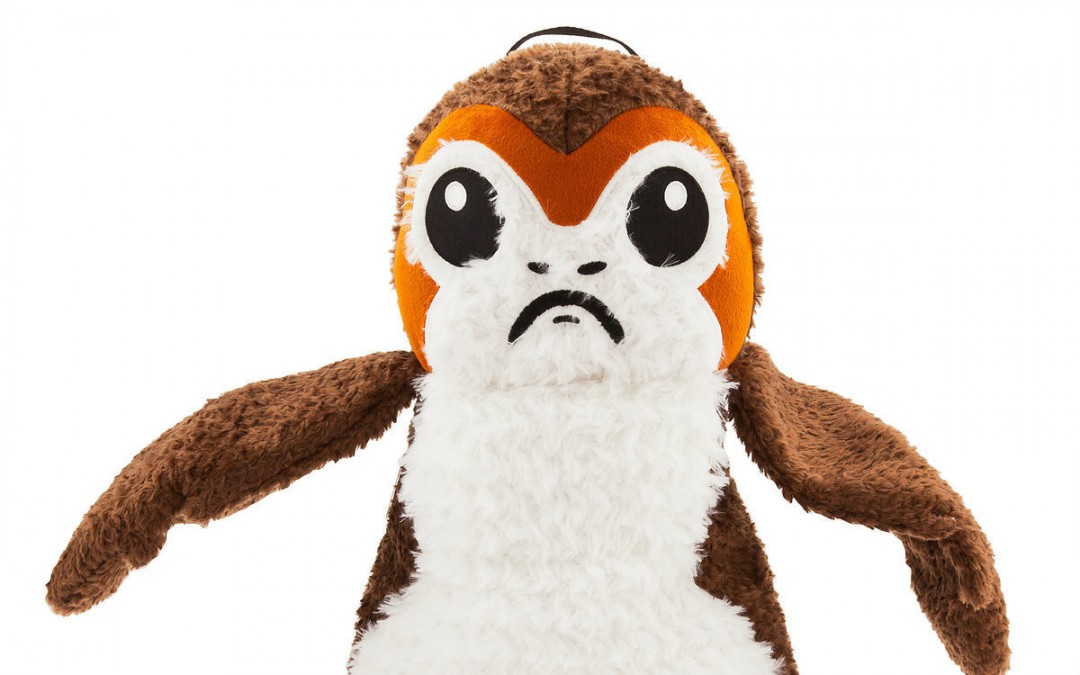 New Last Jedi Porg Backpack available on ShopDisney.com