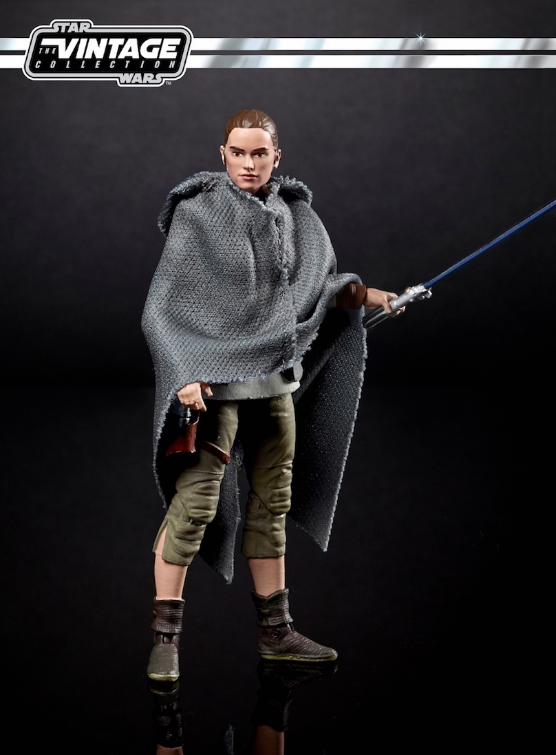TLJ Rey (Jedi Training) Figure