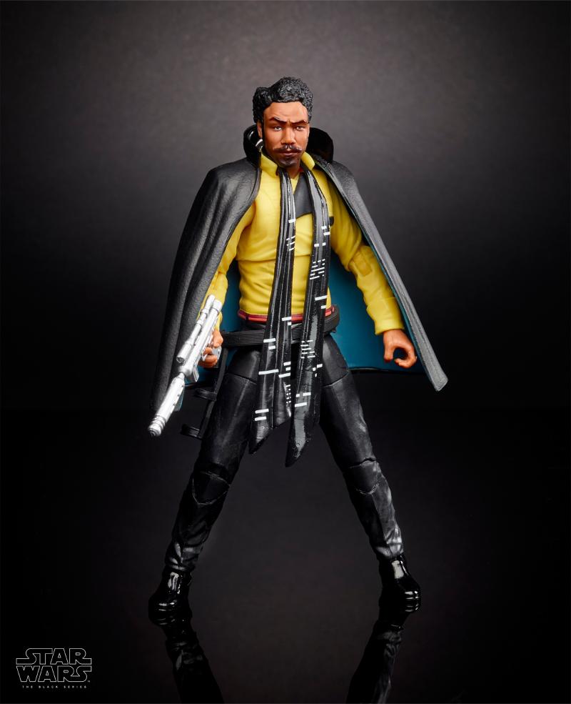 "Solo: A Star Wars Story Lando Calrissian 6"" Black Series Figure"