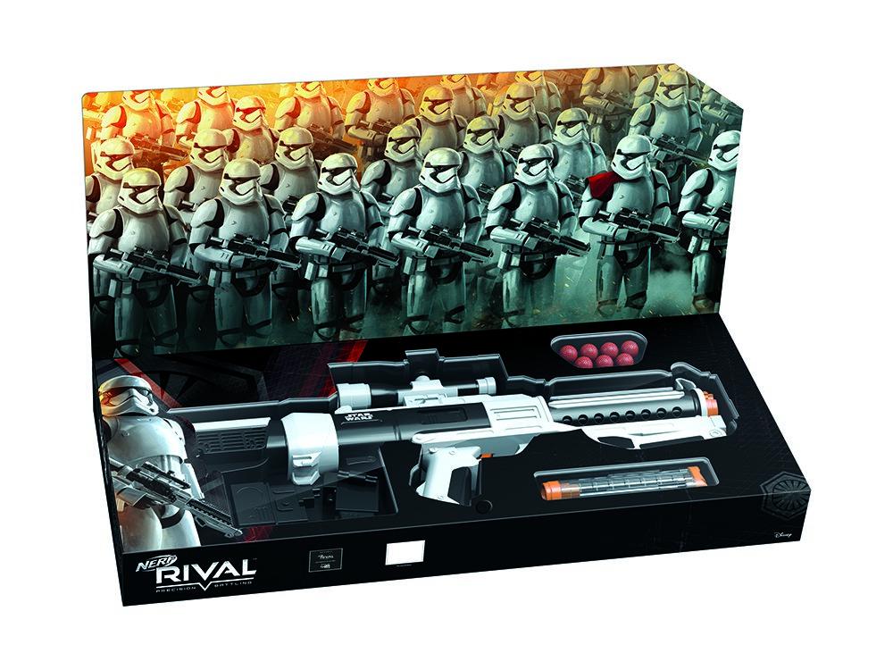 TLJ Nerf Rival First Order Stormtrooper Blaster