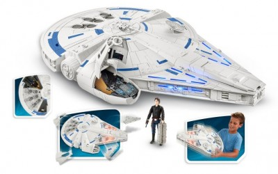New Solo: A Star Wars Story Force Link Kessel Run Millennium Falcon Vehicle Toy revealed!