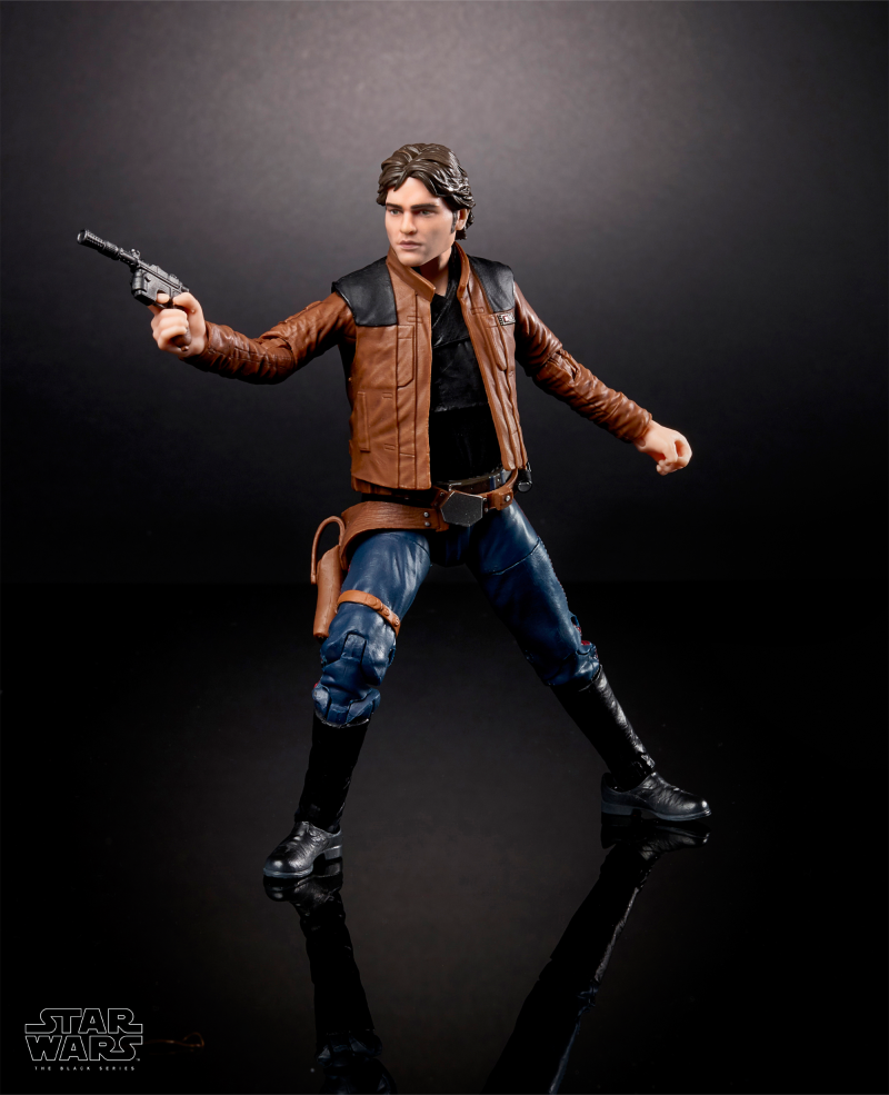 "Solo: A Star Wars Story Han Solo 6"" Black Series Figure"