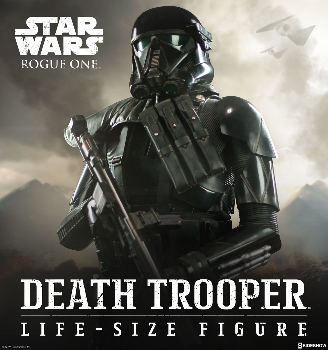 RO Imperial Deathtrooper LS Figure Preview Photo