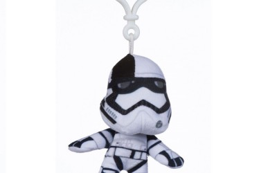 New Last Jedi First Order Stormtrooper Bag Key Clip available on Amazon.com