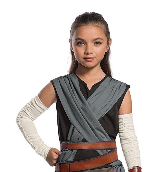 New Last Jedi Rey Child's Halloween Costume available on Amazon.com