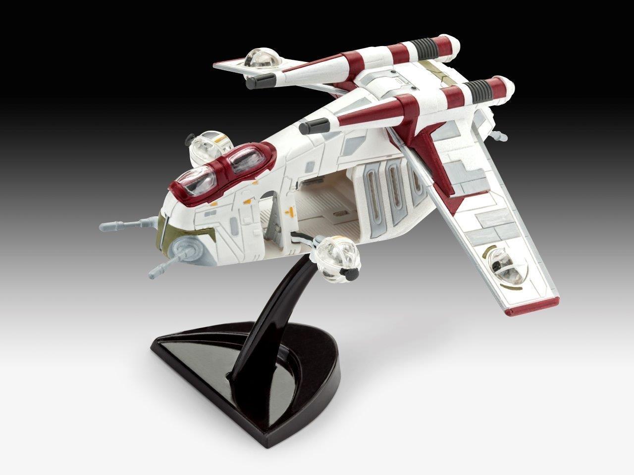 TLJ Republic Clone Trooper Gunship Level 3 Model Kit 2