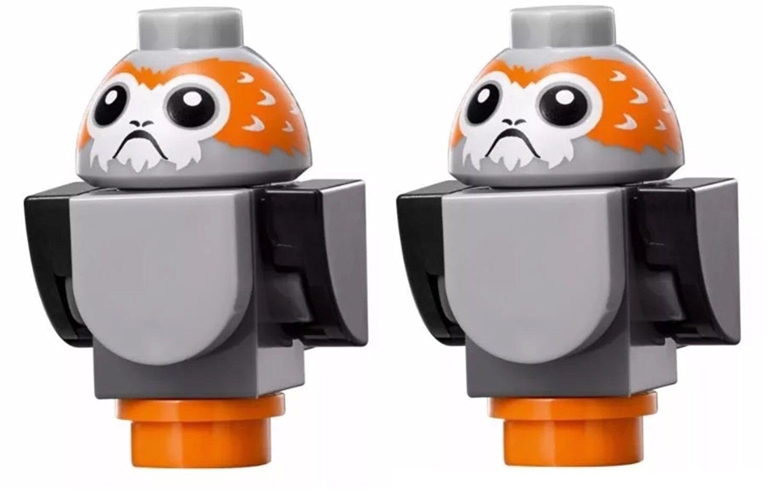 TLJ Porg Lego Mini Figure 2-Pack