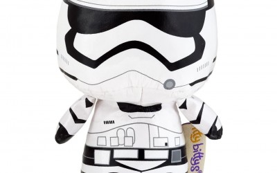 New Last Jedi First Order Stormtrooper Itty Bittys Plush Toy available on Amazon.com