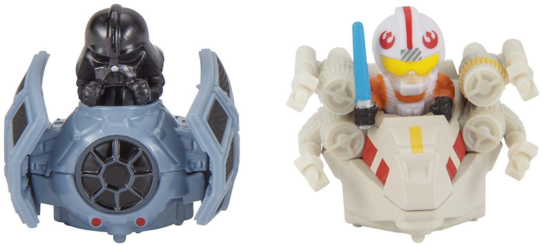 TLJ HW Darth Vader and Luke Skywalker Battle Rollers Vehicle 2-Pack 2