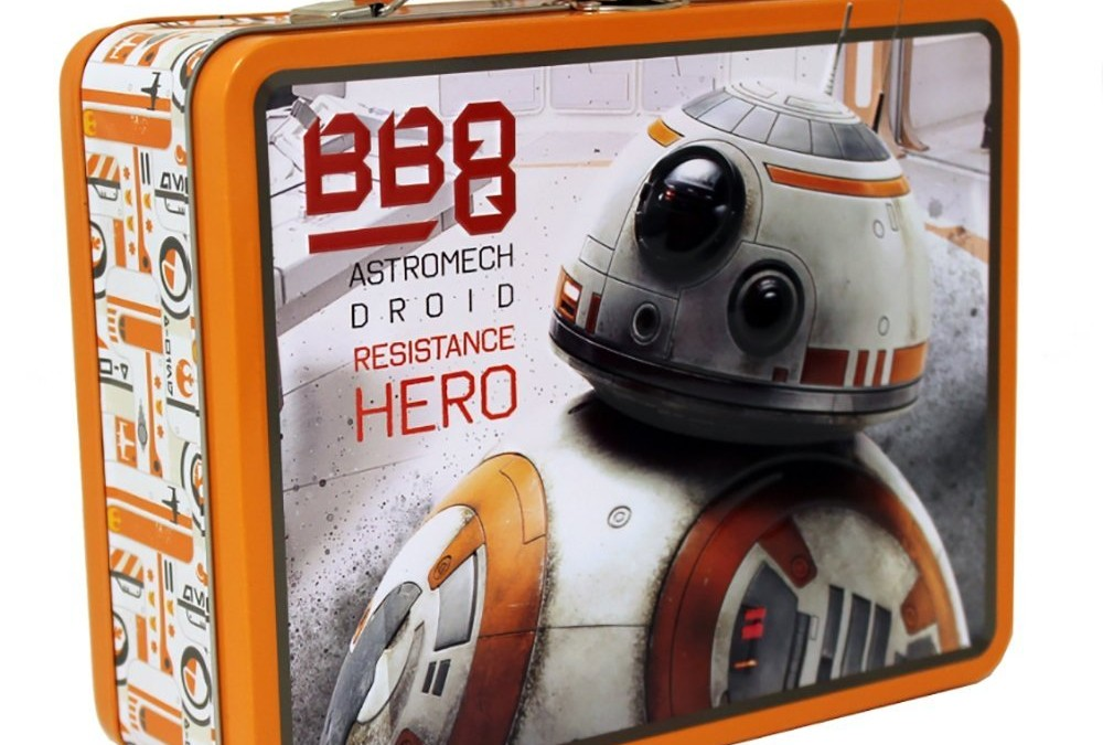 New Last Jedi BB-8 Carry All Tin Lunchbox available on Amazon.com