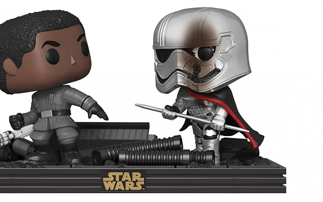 New Last Jedi Funko Pop! Rematch on the Supremacy Bobble Head Toy Set available on Amazon.com