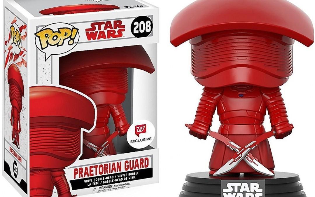 New Last Jedi Funko Pop! Praetorian Guards Bobble Head Toy Bundle available on Amazon.com