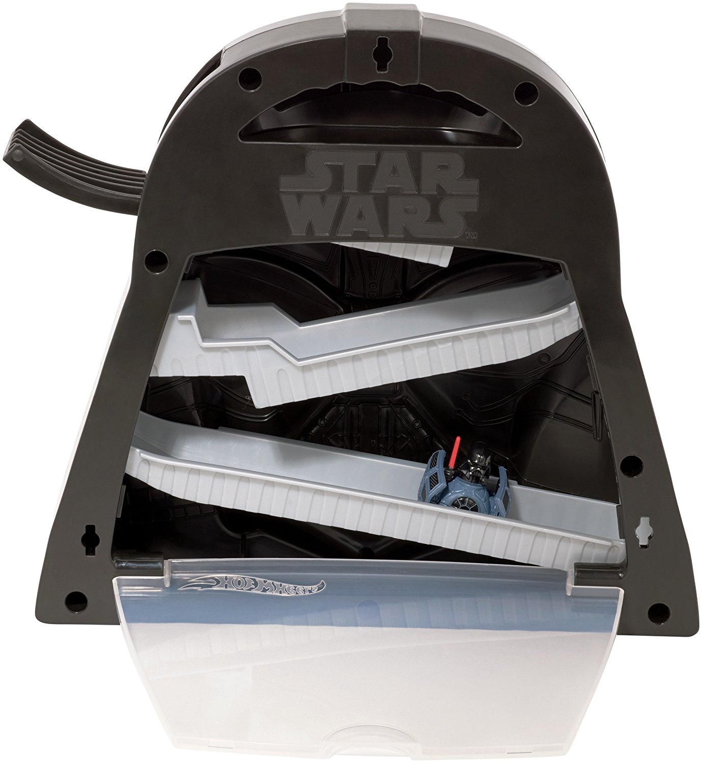 TLJ HW Battle Rollers Darth Vader Play Case Set 4