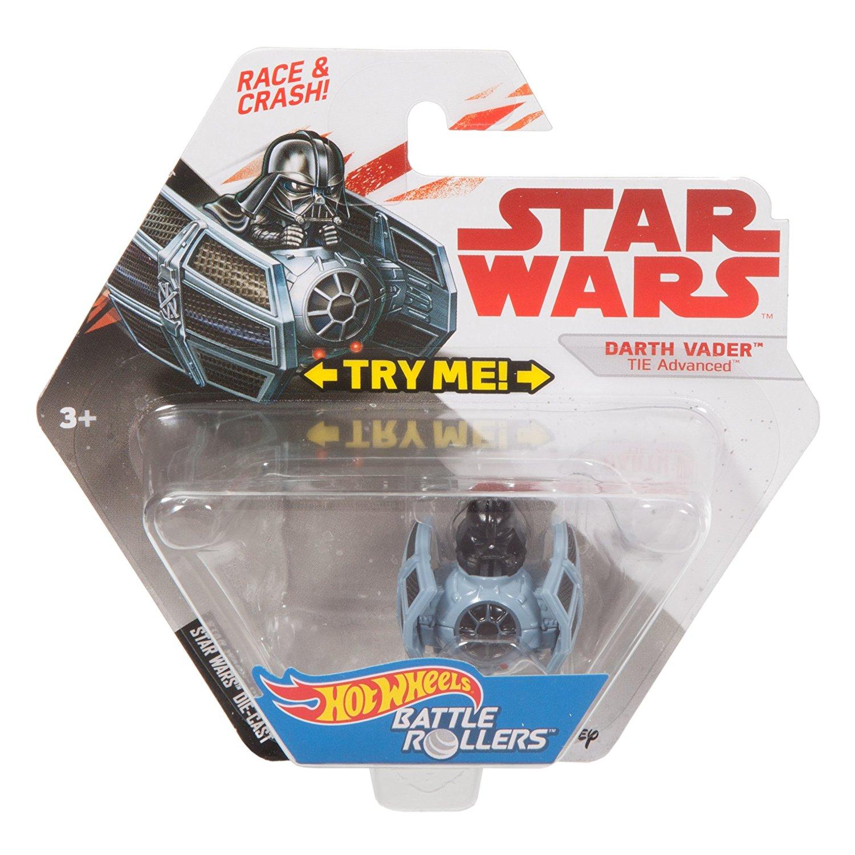 TLJ HW Darth Vader Tie Advances Battle Roller Vehicle Toy 1