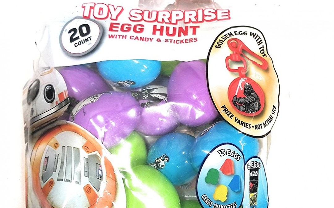 New Last Jedi Surprise Easter Egg Hunt Pack available on Amazon.com