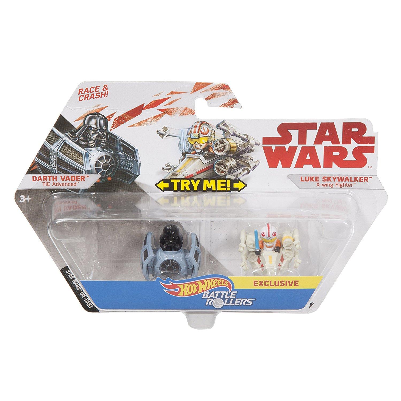 TLJ HW Darth Vader and Luke Skywalker Battle Rollers Vehicle 2-Pack 1