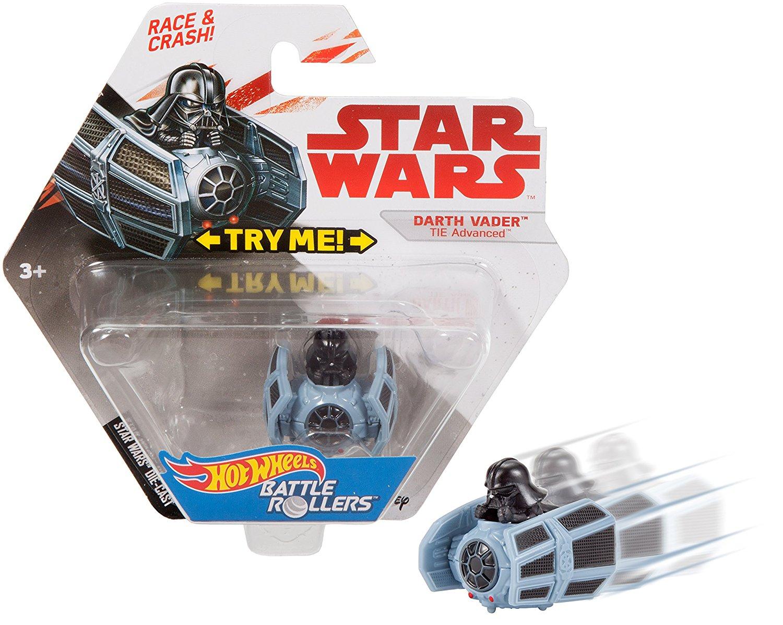 TLJ HW Darth Vader Tie Advances Battle Roller Vehicle Toy 3