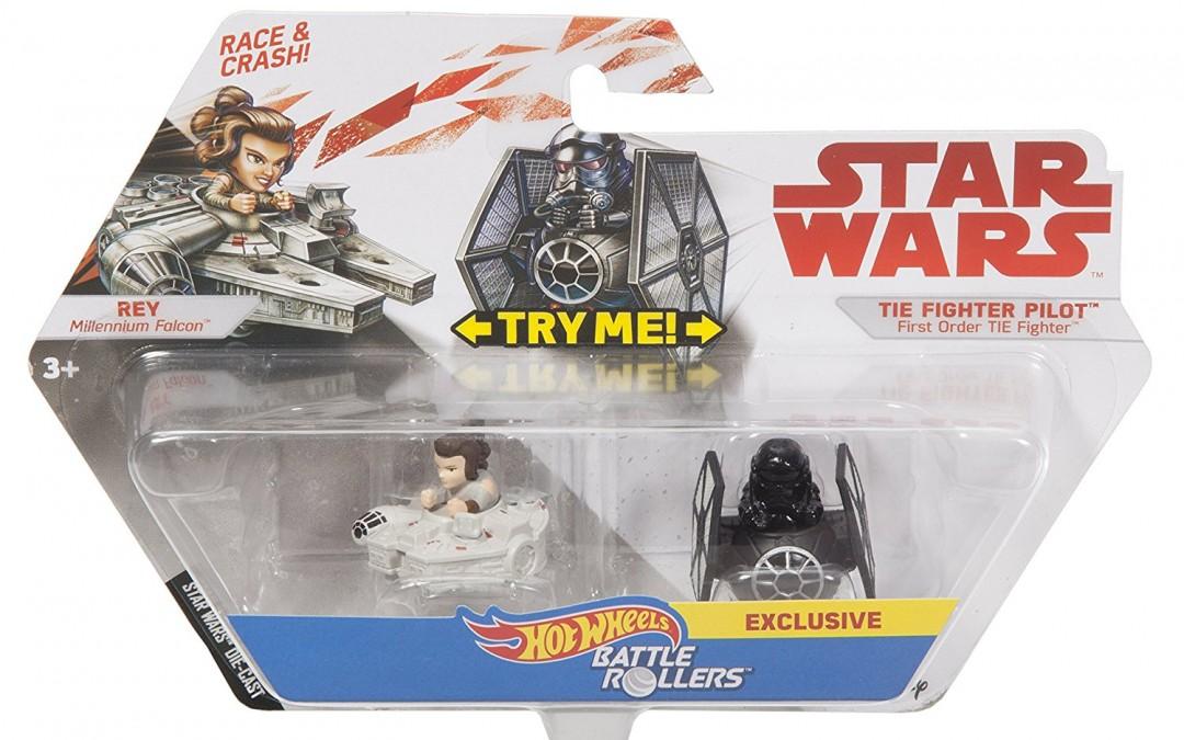New Last Jedi Hot Wheels Battle Rollers Vehicle 2-Packs Rundown!