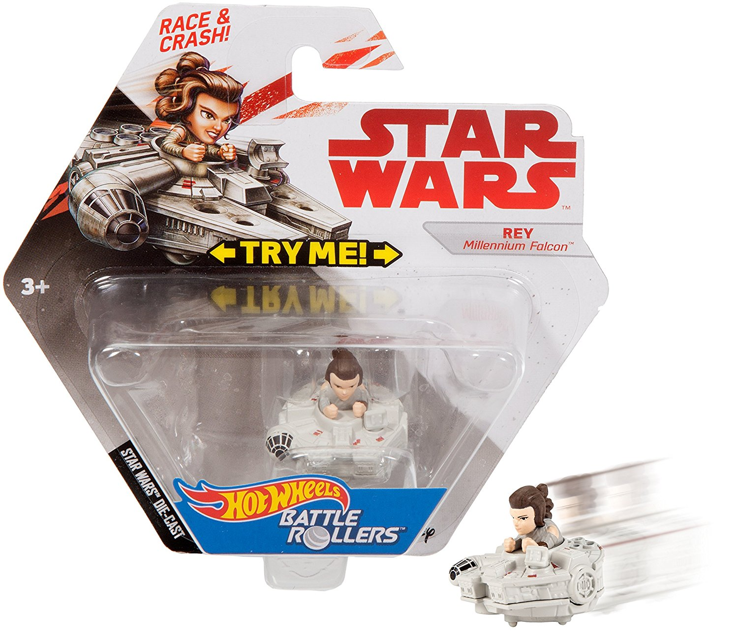 TLJ Rey Battle Rollers Vehicle Toy 3