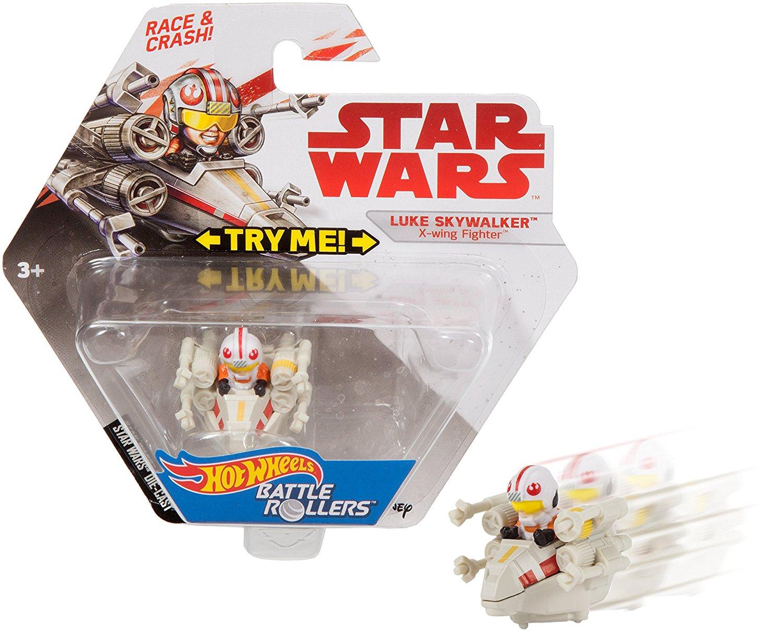 TLJ Luke Skywalker Battle Rollers Vehicle Toy 3