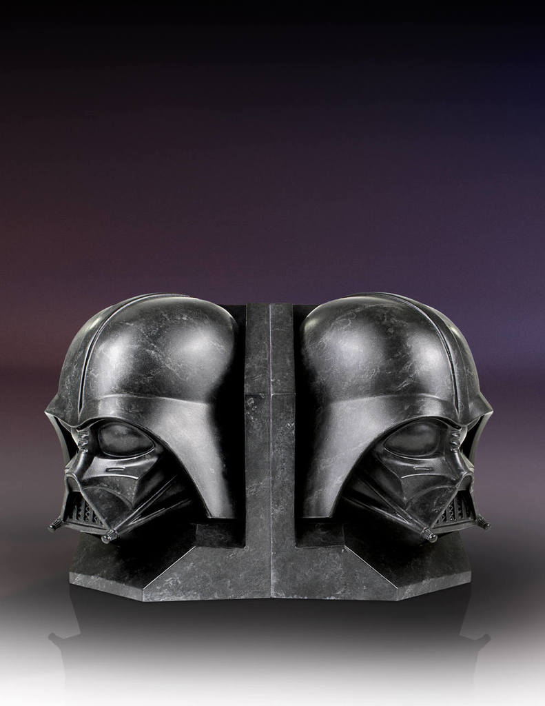 SW Darth Vader and Imperial Stormtrooper Marble Bookend Bundle 5