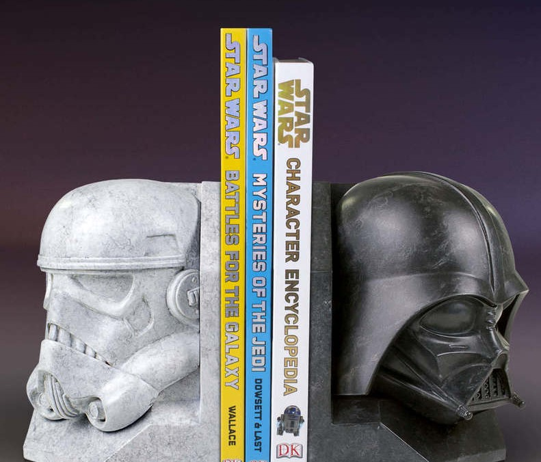 New Star Wars themed Marble Bookends Rundown!
