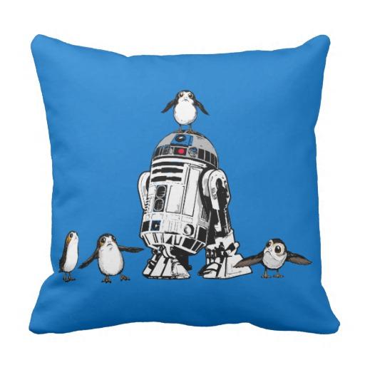New Last Jedi themed Throw Pillows Rundown!