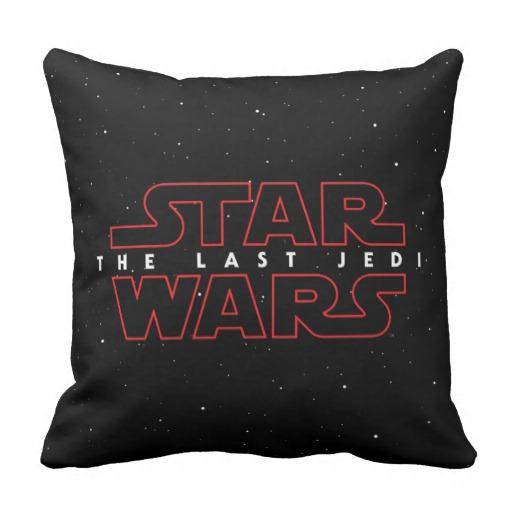 TLJ Logo Throw Pillow