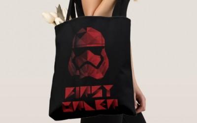 New Last Jedi Captain Phasma Tote Bag available on ShopDisney.com
