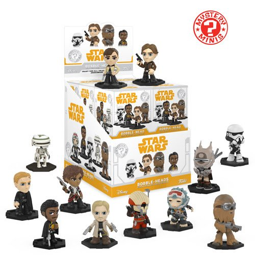 New Solo: A Star Wars Story Funko Pop! Mystery Minis Set available for pre-order on Amazon.com