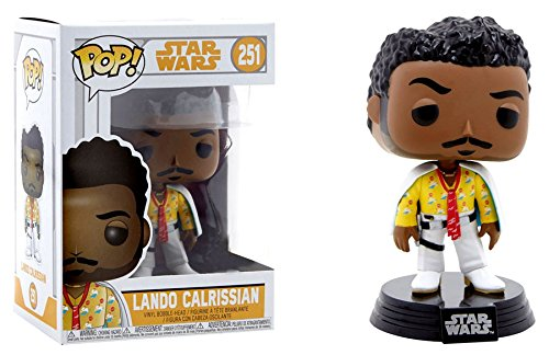 New Solo Movie Lando Calrissian Funko Pop! Bobble Head Toy available on Amazon.com
