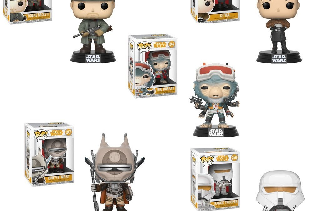 New Solo: A Star Wars Story Funko Pop! Bobble Head Toy Set (2) available on Amazon.com