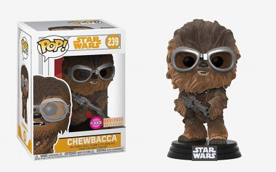 New Solo Movie Chewbacca (Flocked) Funko Pop! Bobble Head Toy available on Amazon.com