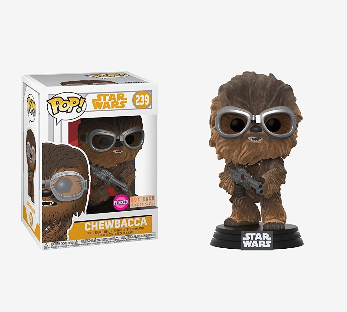 Solo: ASWS Chewbacca (Flocked) Funko Pop! Bobble Head Toy
