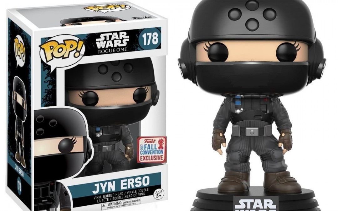 New Rogue One Funko Pop! Jyn Erso Imperial Disguise Bobble Head Toy available on Amazon.com