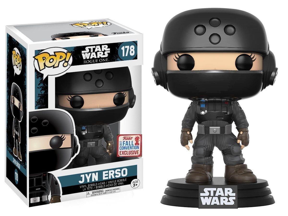 Rogue One FP Jyn Erso Imperial Disguise Bobble Head Toy