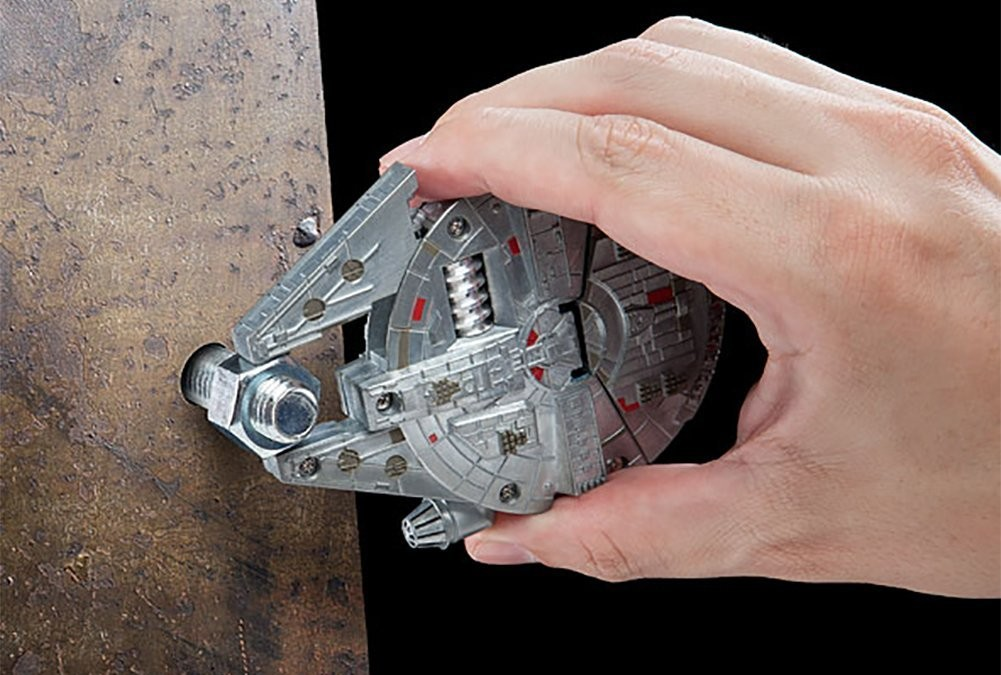 New Star Wars Millennium Falcon Multi-Tool Kit available on Amazon.com
