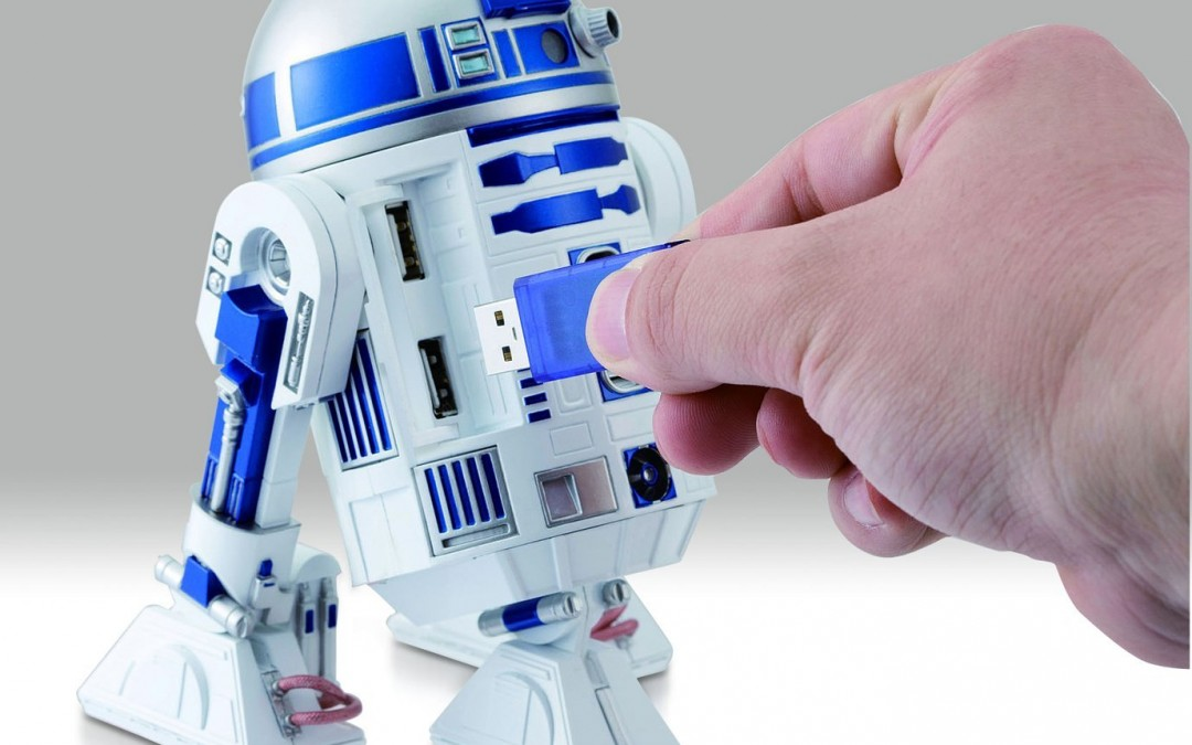New Star Wars R2-D2 USB Charging Hub available on Amazon.com